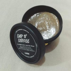 LUSHカップオブブラックのパッケージと中身