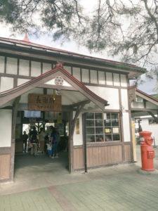 長瀞駅の風景