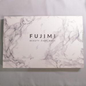 FUJIMIビューティーフェイスマスクの外箱