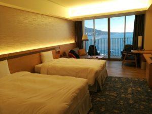 熱海後楽園ホテルオーシャンビュールーム