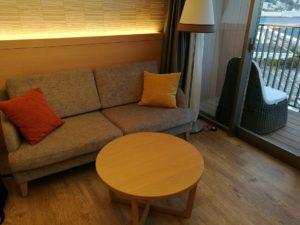 熱海後楽園ホテルのソファー