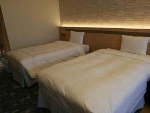 熱海後楽園ホテルのベッド