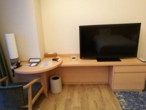 熱海後楽園ホテルのテレビ台