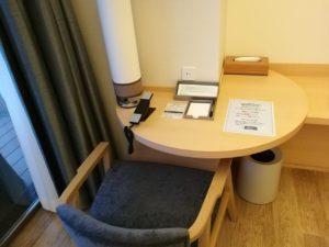 熱海後楽園ホテルの作業机