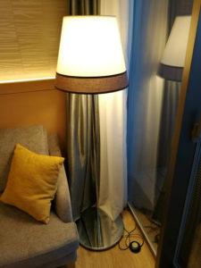 熱海後楽園ホテルのランプ