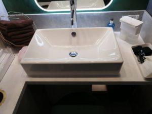 エトワールレジーナクリニックの洗面スペース